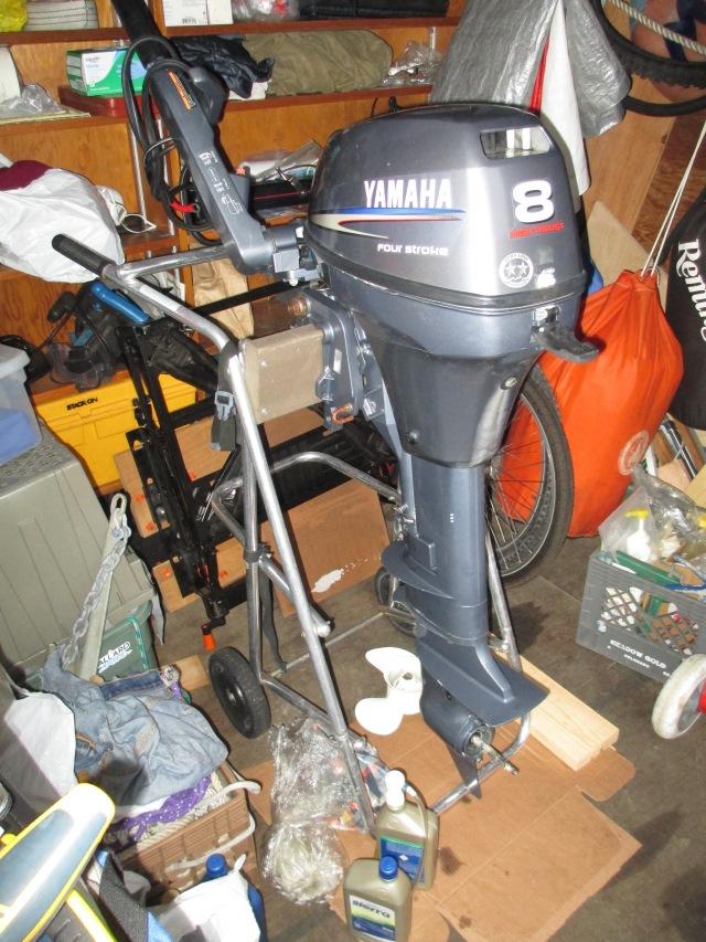 Yamaha 8 HP