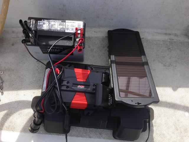 Battery solar panel