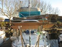 Flicka 20 Mast Lowering