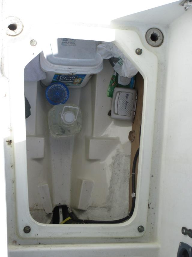 Flicka 20 inboard Engine Space