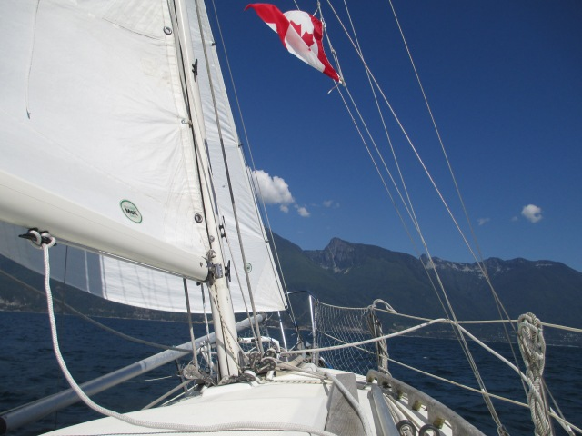 Good Sailing in Howe Sound