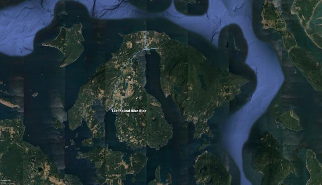 Orcas Island Bike Trip
